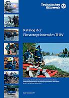 Katalog der Einsatzoptionen des THW